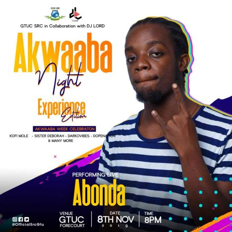 PHOTO 2019 11 04 08 44 55 - DJ Lord Partners With GTUC S.R.C. For This Year's Akwaaba Night (Experience Edition)