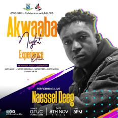 PHOTO 2019 11 04 08 45 19 1 - DJ Lord Partners With GTUC S.R.C. For This Year's Akwaaba Night (Experience Edition)