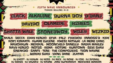 Photo of Grime Trailblazer Wiley, Runtown, Becca named in 5th Wave Line Up For Afro Nation Ghana