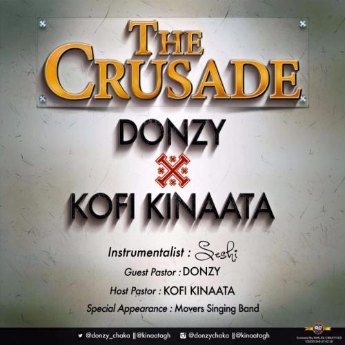 the crusade 500x500 - Donzy x Kofi Kinaata - The Crusade (Prod. by Seshi)
