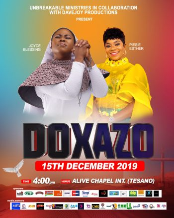 Joyce Blessing doxazo 3 scaled - Joyce Blessing to Hold Doxazo 2019 on December 15th