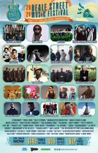 TN Festival 323x500 - Sarkodie & Stonebwoy Only Ghanaians Listed For 2020 Beale Street Music Festival in USA