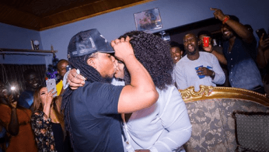Edem and wife - Edem's Wife celebrates 6th Marriage Anniversary with 'Erotic' Message