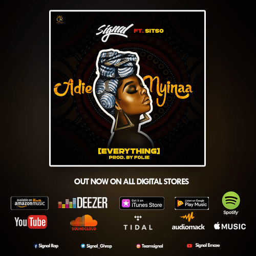 Signal ft Sitso Adie Nyinaa EverythingProd by Foliewww dcleakers com mp3 image - Kuami Eugene Announces The Release Of His Second Album.