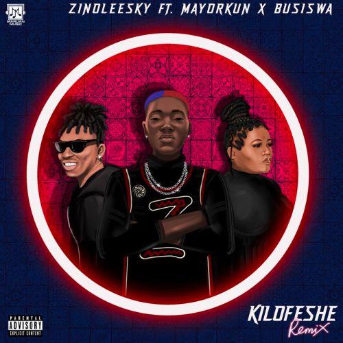Zinoleesky Kiloshe remix cover art 500x500 - Zinoleesky - Kilofeshe (Remix) ft Mayorkun & Busiswa