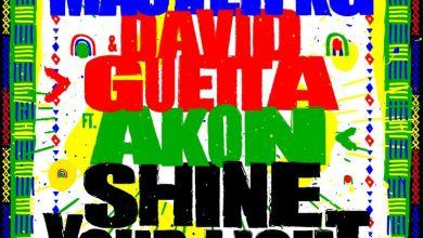 Master KG ft David Guetta Akon Shine Your Light www dcleakers com  mp3 image - Master KG - Shine Your Light ft. David Guetta & Akon