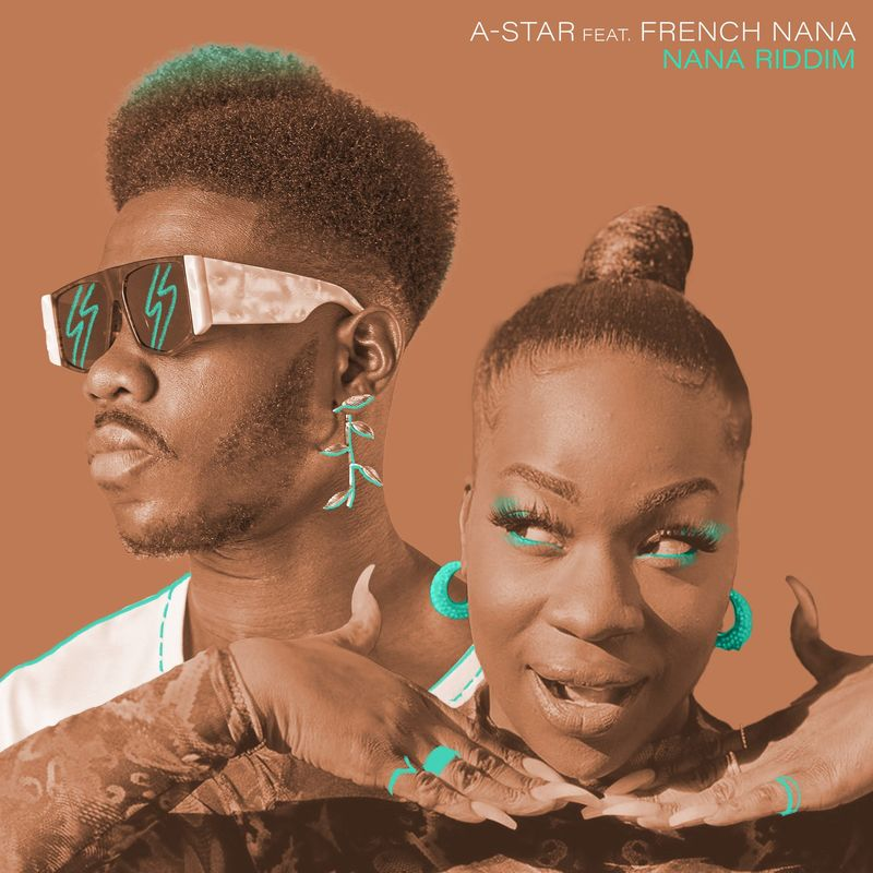 A Star ft French Nana Nana Riddim www dcleakers com  mp3 image - A-Star ft. French Nana - Nana Riddim
