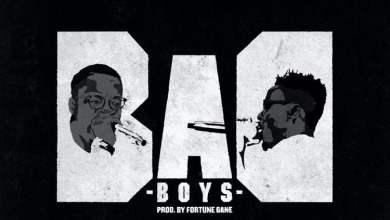 Bad boys cover art - Ko-Jo Cue & Shaker - Bad Boys