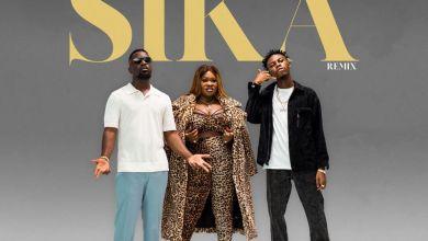 Sista Afia ft Kweku Flick Sarkodie Sika RemixProd by Apyawww dcleakers com  mp3 image - Sista Afia - Sika (Remix) ft. Sarkodie & Kweku Flick