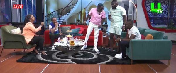 shatta wale utv 500x250 - Shatta Wale And Arnold Asamoah Clash on Live Television