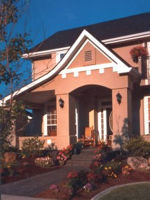 Harris Ranch - Front Elevation