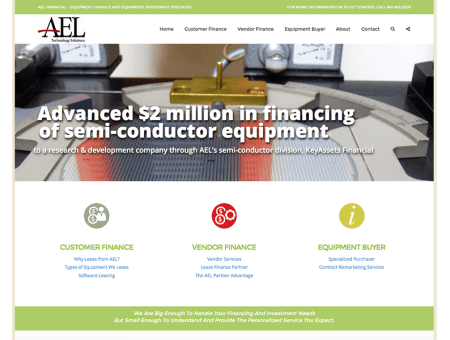 Financial Website