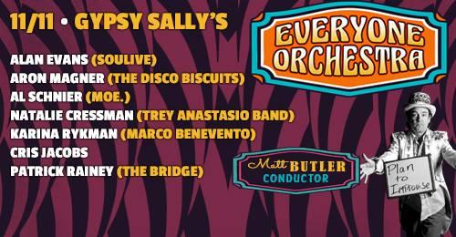 Everyone Orchestra at Gypsy Sally's