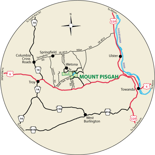 No recent reports found for mt pisgah. Mount Pisgah State Park