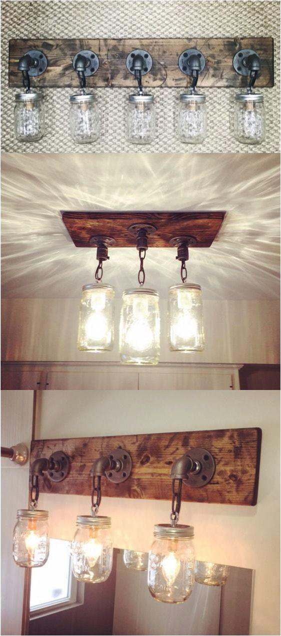 Veja Como Fazer Luminria Pendente Em Pote De Vidro