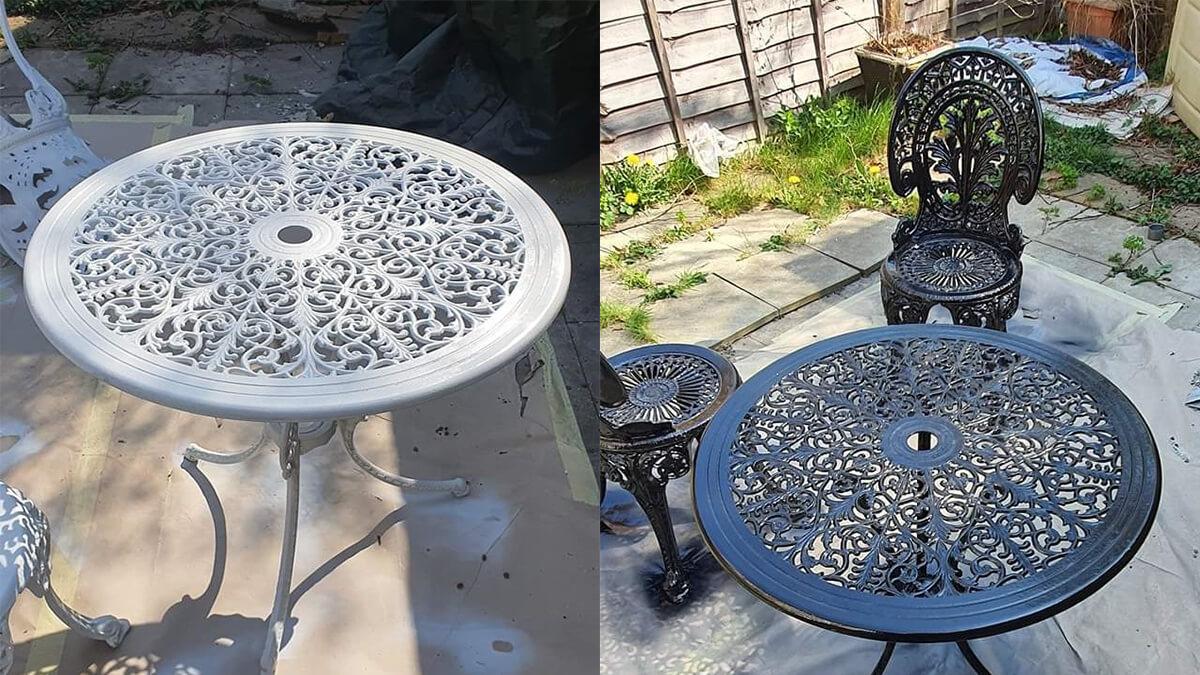refurbishing cast aluminium metal