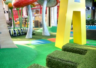 Interior Design Photography Sydney – Charlestown Shopping Centre, Play Area