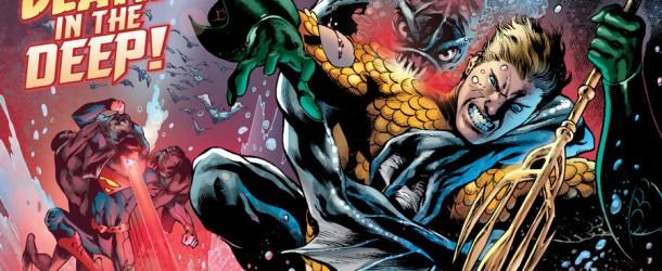 Aquaman #16 Throne of Atlantis Geoff Johns DC Comics New 52