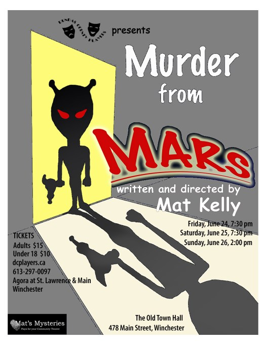 Poster of Murder from Mars