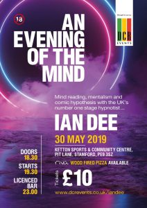 An evening of the mind with Ian Dee