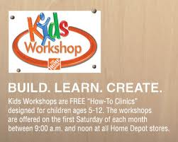 Kids Workshop Home Depot Logo