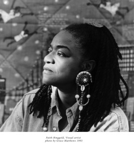 Faith Ringgold, Visual artist Photo by Grace Matthews 1993