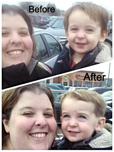 Cartoon Cuts - Muddling Momma Before and After