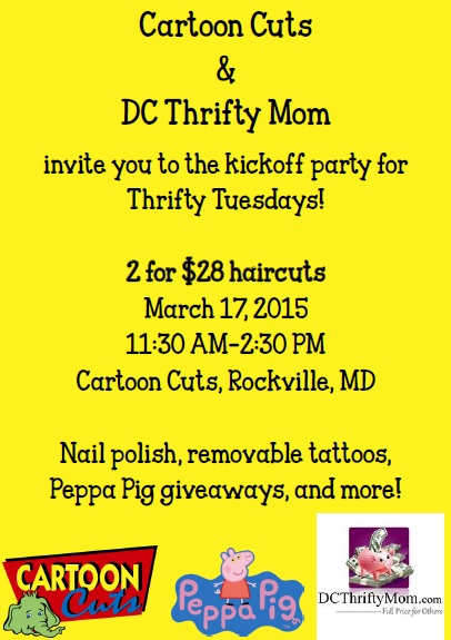 Cartoon Cuts - Thrifty Kickoff