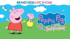 Peppa Pig Live Show - Peppa Pig's Surprise Banner