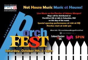 Adams Morgan PorchFest 2017