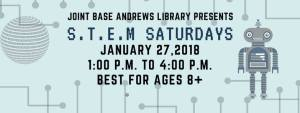 Andrews Base Library - STEM Saturday
