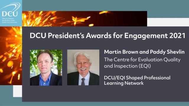 DCU President Awards - Engagement staff winners