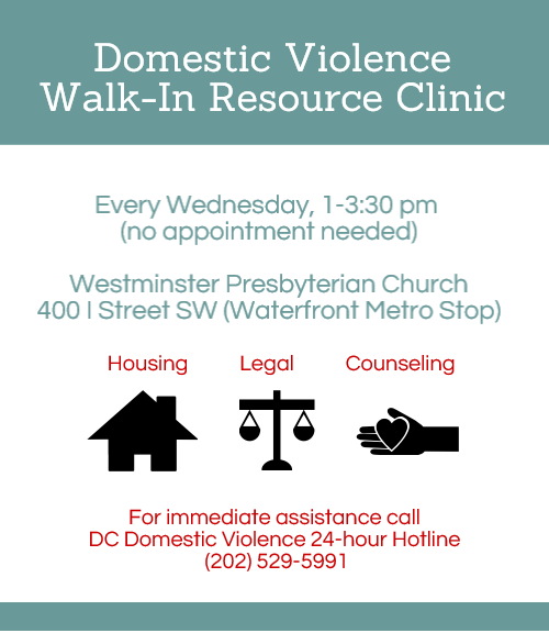Domestic Violence Resource Clinic Flyer