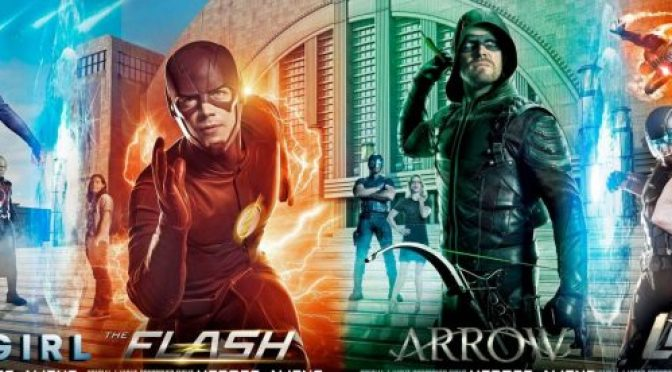 The Epic DCTV CW Crossover Event Trailers