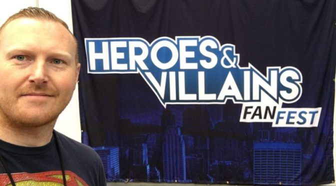 DC World Report Of Heroes & Villains Fanfest London