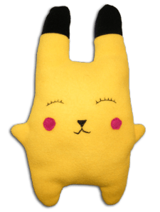 Pikachu version doudou lapin !