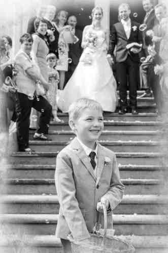 Hochzeitsbilder mit Kind