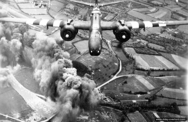 Photos de la bataille de Normandie - Combats aériens