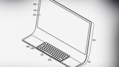 """Photo of براءة اختراع تحسب لها … آبل تقدم حواسيبها بـ """"لوحة المفاتيح الزجاجية"""""""