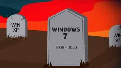 Photo of انخفاض مستخدمي ويندوز 7 في العام 2020
