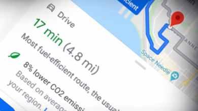 Photo of جوجل تضيف رمز أخضر جديد فى خرائطها على الرحلات يوفر المال