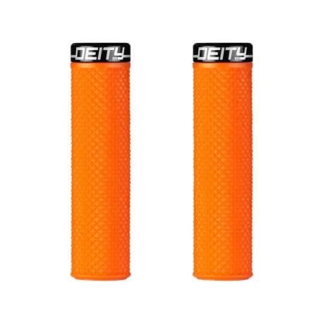 Deity Supracush Grips – Orange