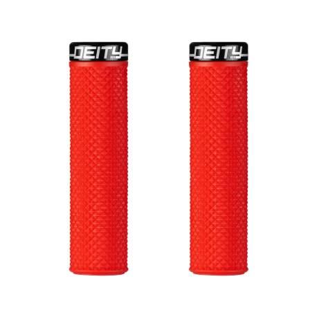 Deity Supracush Grips – Red