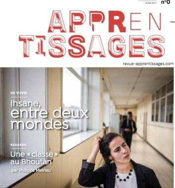 Appren-Tissages, Philippe Meirieu et Gaël Bournonville nous présentent cette nouvelle revue