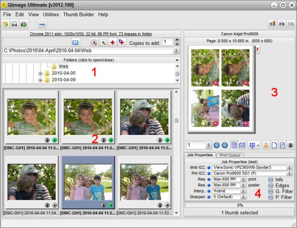 Getting Familiar with Qimage