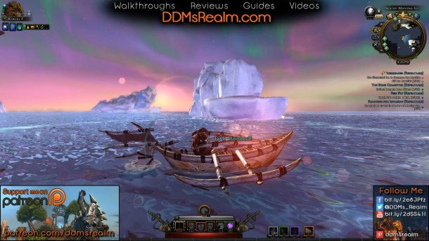 Check out DDM's Realm on Twitch - Sea of Moving Ice in Neverwinter