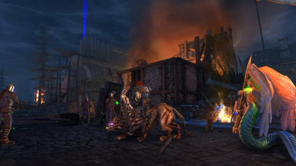 Siege of Neverwinter – Tips Tricks Walkthrough Guide - City On Fire