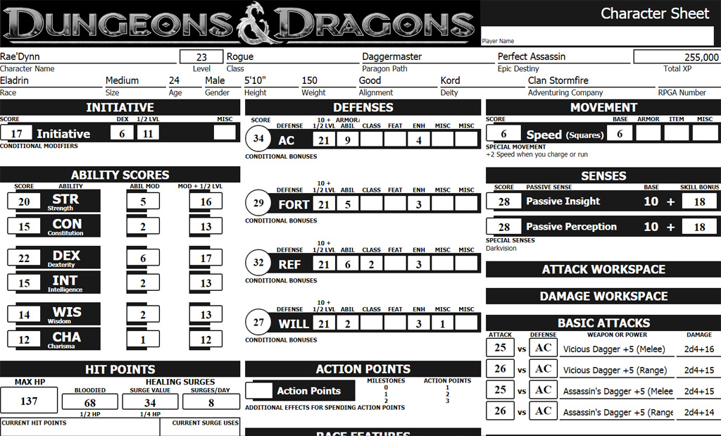 Dungeons and Dragons Next aka 5th Edition