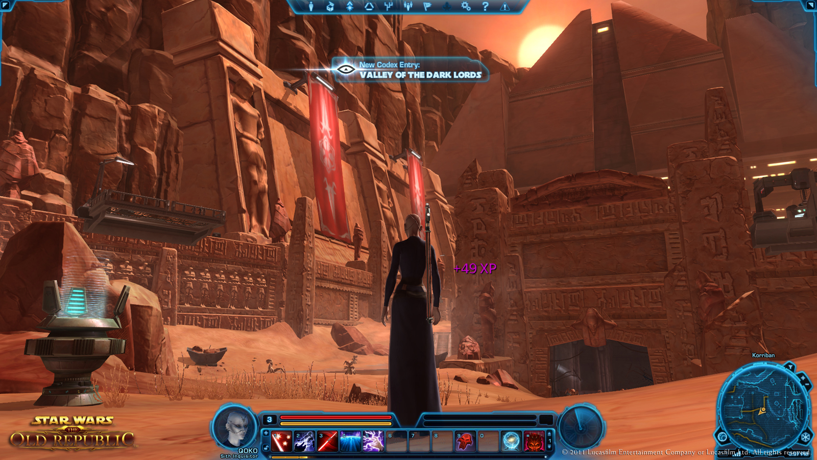 star wars knights of the old republic ii the sith lords character creation