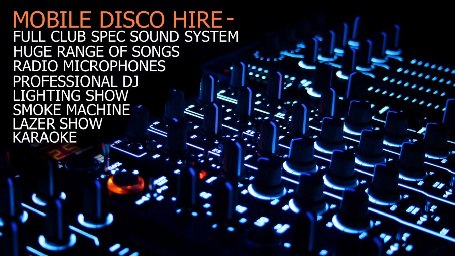 Mobile Disco and Karaoke Didcot